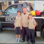 Owner, Jon Gaboudian and his sons