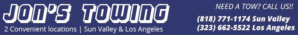 Towing Company Los Angeles & Sun Valley
